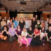 Dansgänget från VT-12 i Väsby. Avslutningsdans med Linedance Newcomer & Novice i maj-12